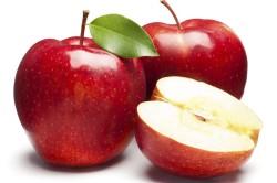 Яблоки для повышения уровня железа в крови