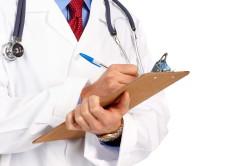 Обращение с ранением к врачу