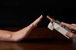 Отказ от курения за 2 дня до сдачи крови