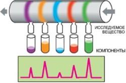 Хроматография - метод исследования крови