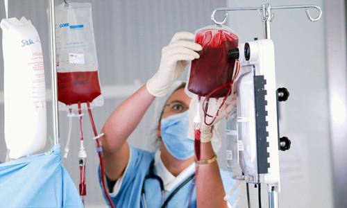 Процедура переливания крови