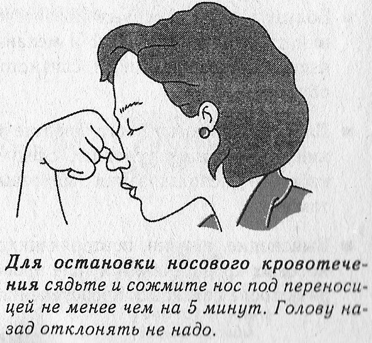 Как сделать так чтобы из носа не текло когда