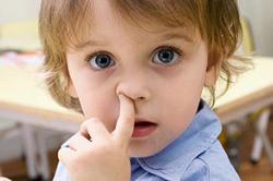 Кровь из носа в результате повреждения слизистой оболочки