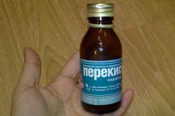 Перекись водорода для дезинфекции