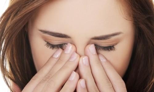Проблема крови в глазах