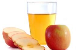Яблочный уксус для остановки крови из родинки