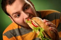 Неправильное питание - симптом недостаточности кровоснабжения