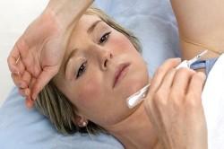 Колебания базальной температуры - симптом имплантационного кровотечения